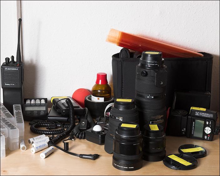 Nikon SB24 mit Durchlichtschirm