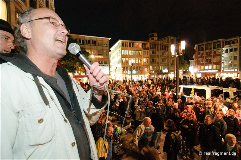 Stuttgart 21: 45. Montagsdemonstration