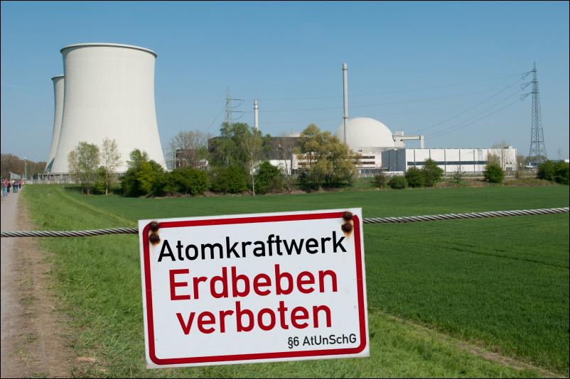 Atomkraftwerk: Erdbeben verboten