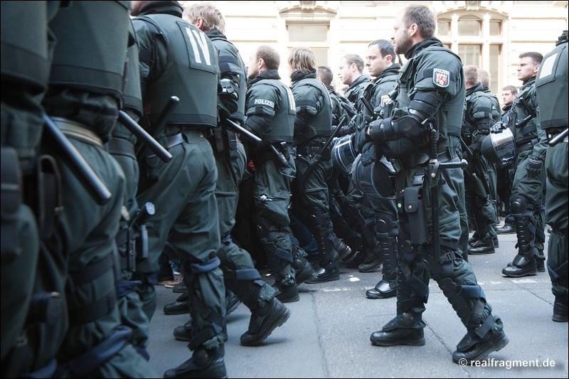 Blockupy FFM: Friedlicher Freitag vor der Großdemo