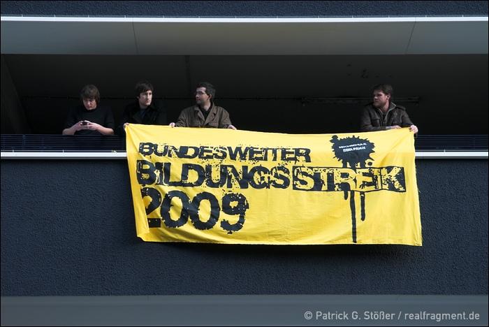Bildungsstreik 2009: Stuttgart, 21/11/2009