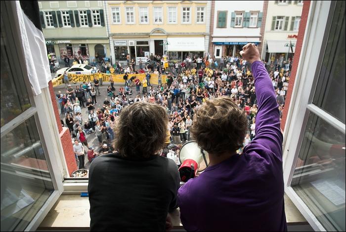 Vier Tage im Juni: Der Bildungsstreik 2009 in Heidelberg