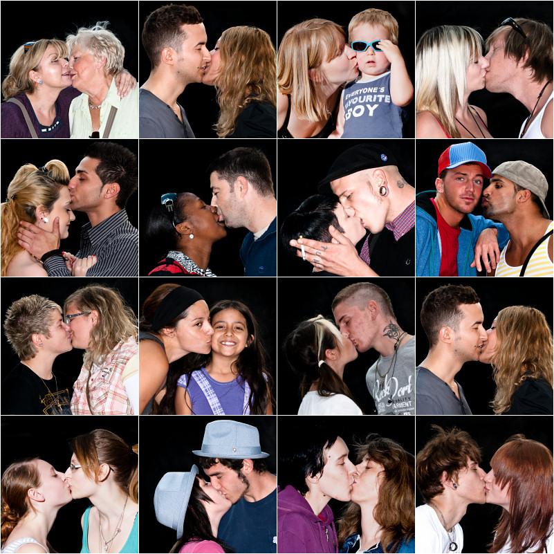 a day a kiss / etwas schenken, was ich nicht habe