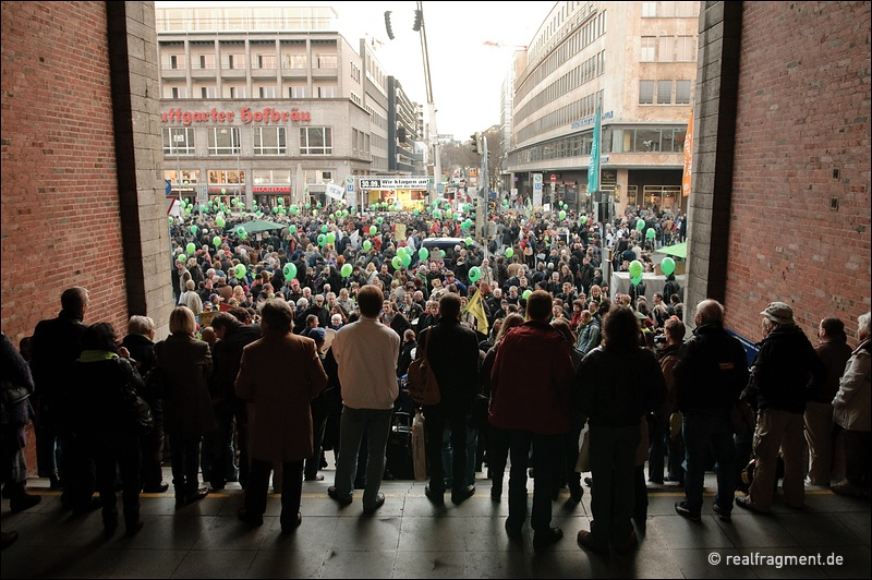 Schwarzer Donnerstag: Wir klagen an!